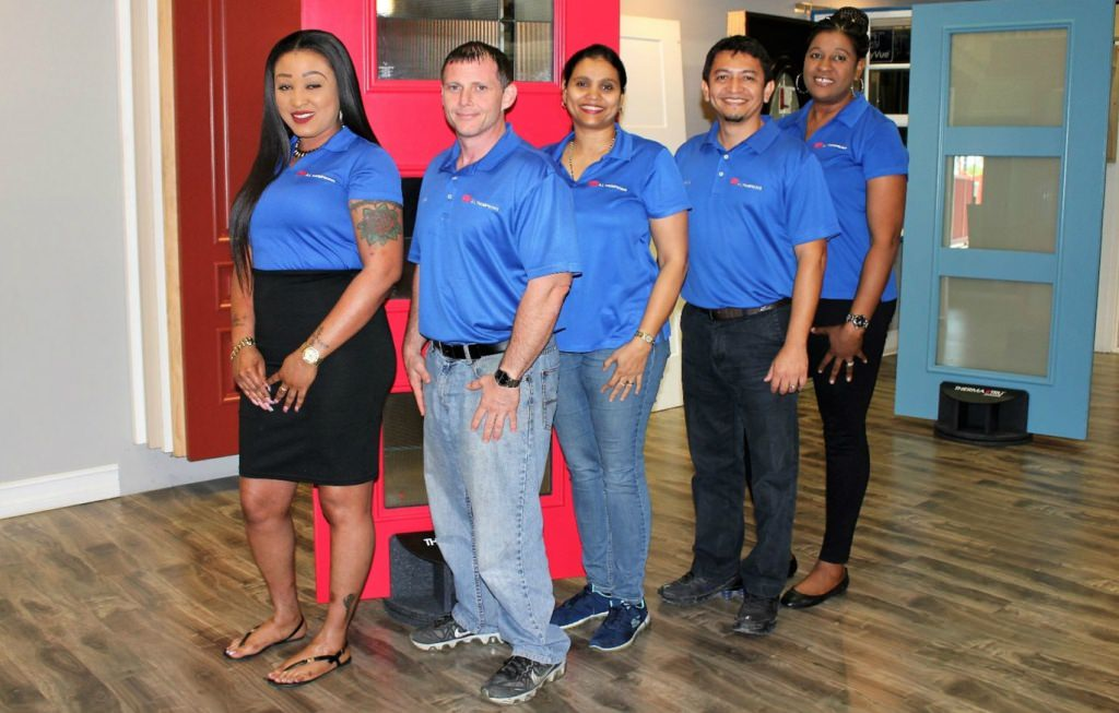 A L thompsons contractor sales team