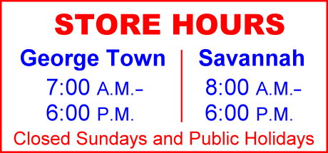 Main Store Opening Hours